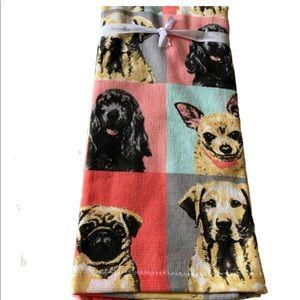 Dog dish towels